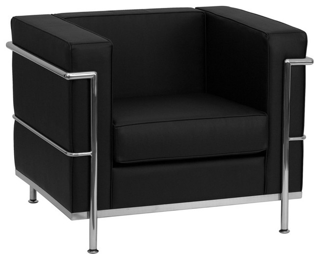 Le Corbusier Style Regal Series Contemporary Leather Chair – Contemporary Furniture Chairs