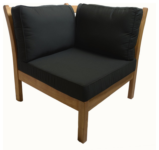 haste garden kamea corner with black cushions contemporary patio furniture and outdoor black patio chair cushions