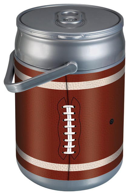 Picnic Time Football Design Cooler Can.