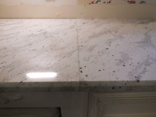 Granite seam making me angry can it be improved for Marble filler repair