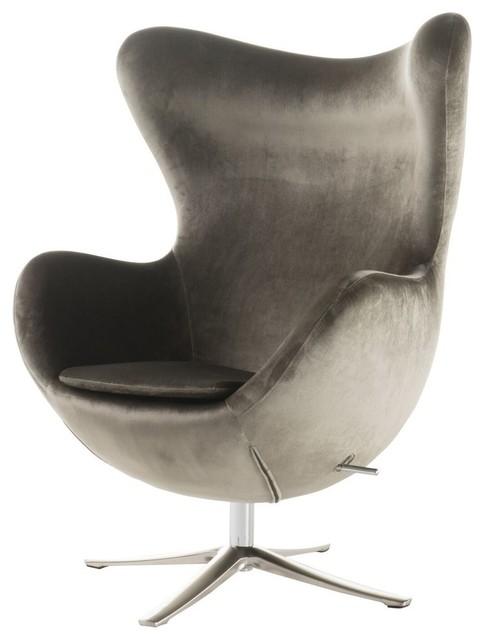 Superb Gdf Studio Gadot Gray New Velvet Modern Swivel Chair Unemploymentrelief Wooden Chair Designs For Living Room Unemploymentrelieforg