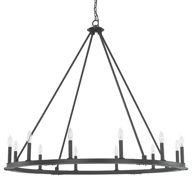 Capital Lighting 4912 000 Pearson 12 Light Chandelier