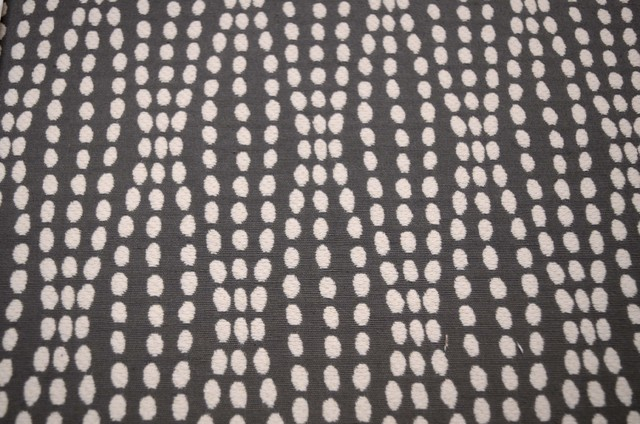 Strands Charcoal Waverly Fabric By The Continuous Yard