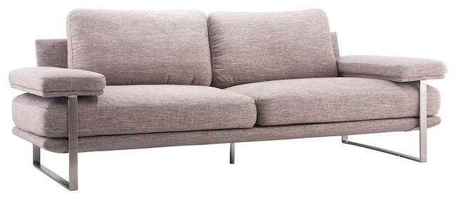 Zuo Modern Jonkoping Sofa, Wheat, 900626.