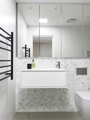 Room of the Week: A Tiny Ensuite Transformed With Luxe Touches