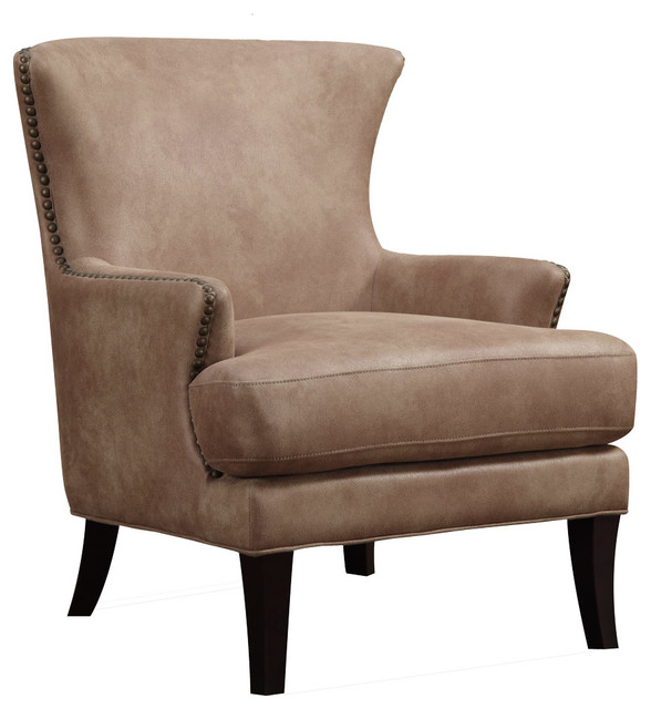 Newcastle Accent Chair, Nougat Beige