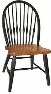 Torchwood Side Chair, Harvest, Black