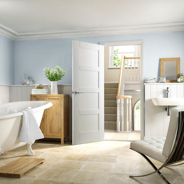 ... Modern White Interior Doors