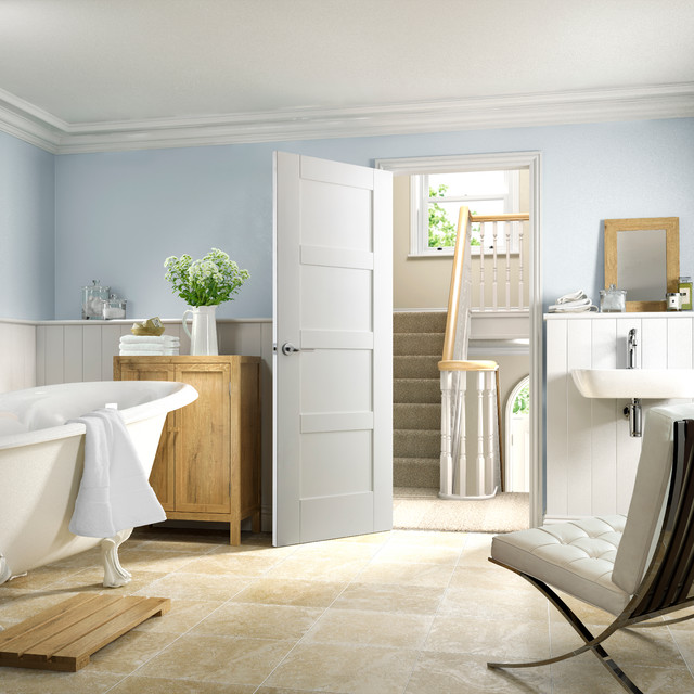 Shaker White Internal Door Contemporary Interior Doors London