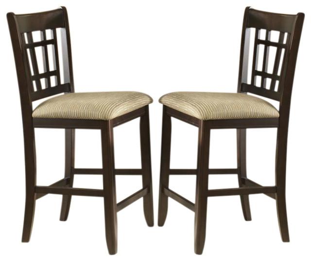 Liberty Furniture Santa Rosa 24 Inch Barstool Merlot