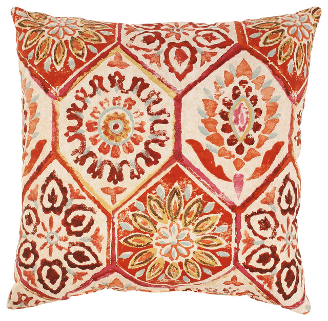 Summer Breeze Throw Pillow.