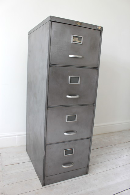 Grove Vintage Filing Cabinet Contemporary Filing Cabinets