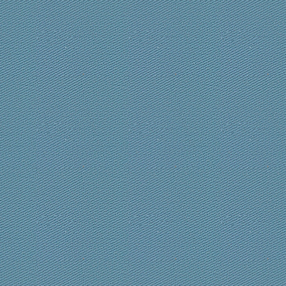 Teal Blue Cotton Twill Fabric