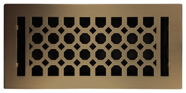 Light Oil Rubbed Bronze Charlotte Floor Register 4 Quot X10