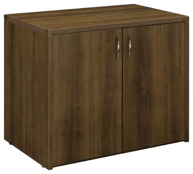 Dmi Fairplex 2-Door Storage Cabinet, Walnut.