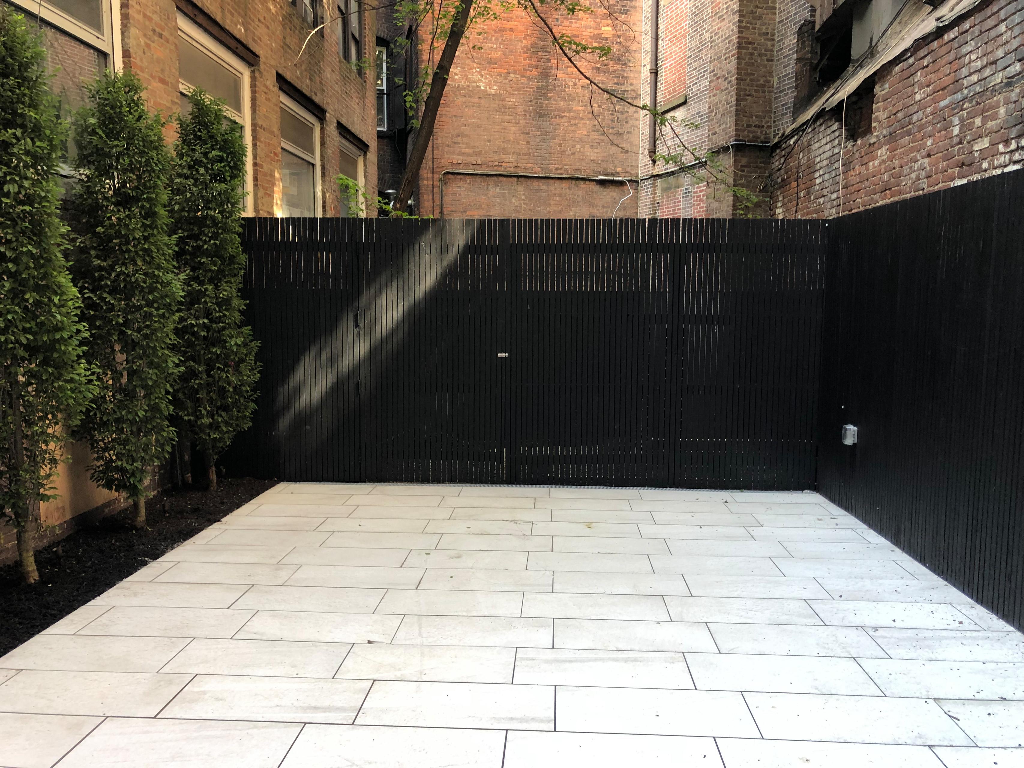 East Village Condo Court Yard