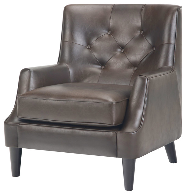 Grange 30 Traditional Tufted Club Armchair Midcentury Armchairs