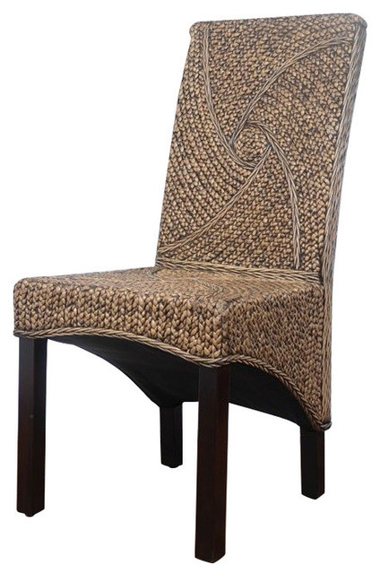 International Caravan Bali Lambada Woven Dining Chair.