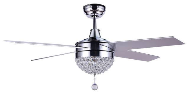 Buy Bella Depot 48 Quot Dimmable Crystal Ceiling Fan With Led