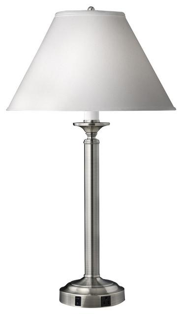 Single Nightstand Lamp, Set Of 2.