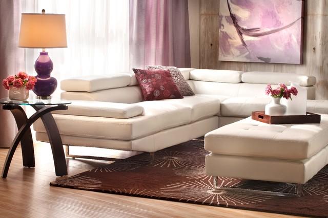 Jupiter Sectional Group Modern Living Room