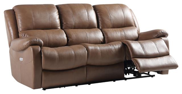Mervin Top Grain Leather Power Reclining Sofa
