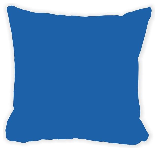 Cerulean Blue Throw Pillows : Rikki Knight LLC - Cerulean Blue Fall Winter Microfiber Throw Pillow & Reviews Houzz
