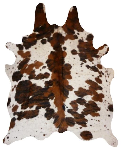 Safavieh Handpicked Hacienda Argentinian Zebra Print: Cowhide Rug Spine Tricolor