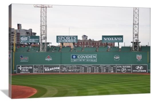 Green Monster, Fenway Park, Boston Red Sox Gallery Wrapped Canvas ...