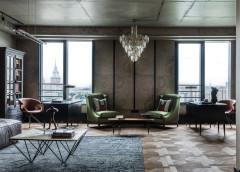 Houzz тур: Апартаменты с богемным шиком