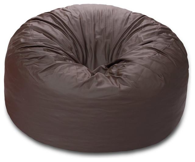 5ft comfy sack memory foam bean bag chair contemporary