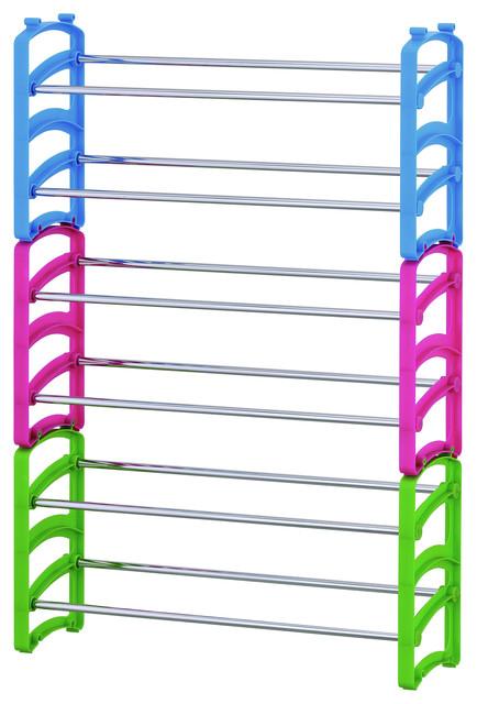 Furinno Wayar 6-Tier Shoe Rack.