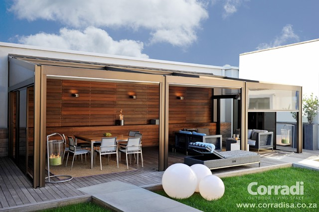 Pergotenda- Patio awnings with retractable roofs by ... on Corradi Living Space id=38490