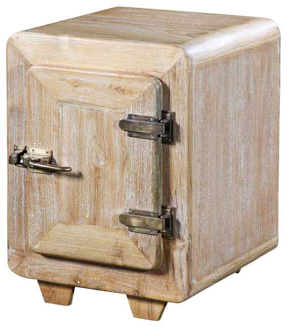 Ice Box Side Table Transitional Side Tables And End Tables By Eclectic Design International