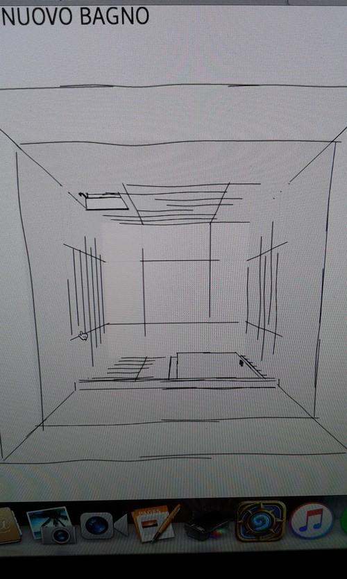 aiuto per fare un bagno di cm 130 x 130 in una camera da letto