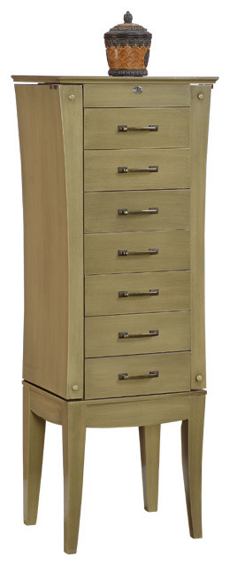 Nathan Direct 7Drawer Jewelry Armoire View in Your Room Houzz