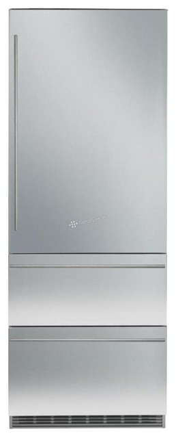 Liebherr 30 Fully Integrated Bottom Freezer Refrigerator With Ice Maker.