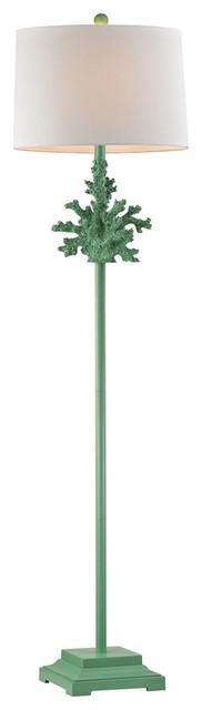 Coral Spearmint Floor Lamp.