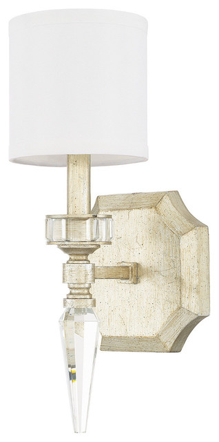 Winter Gold Wall Sconces : Capital Lighting Olivia 1-Light Sconce, Winter Gold - Transitional - Wall Sconces - by Littman ...