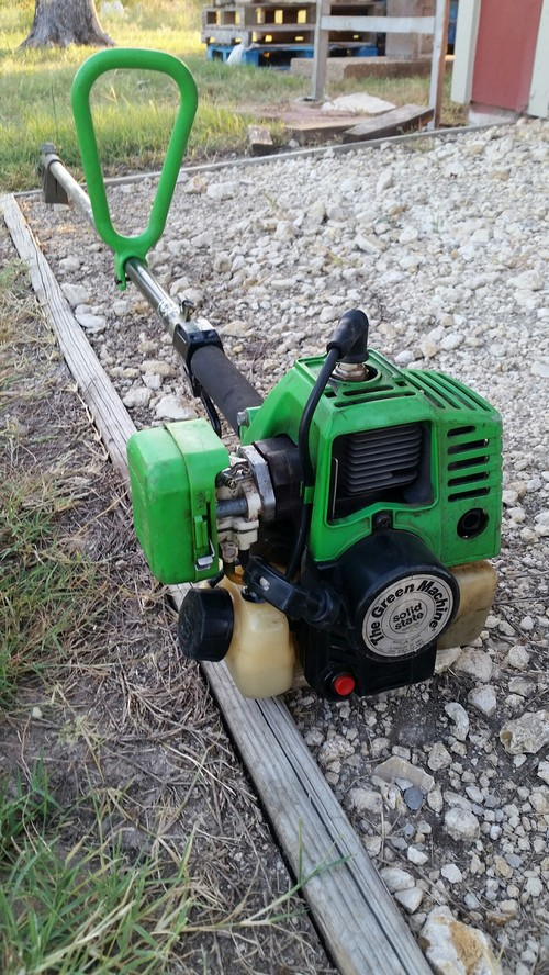 green machine trimmer parts