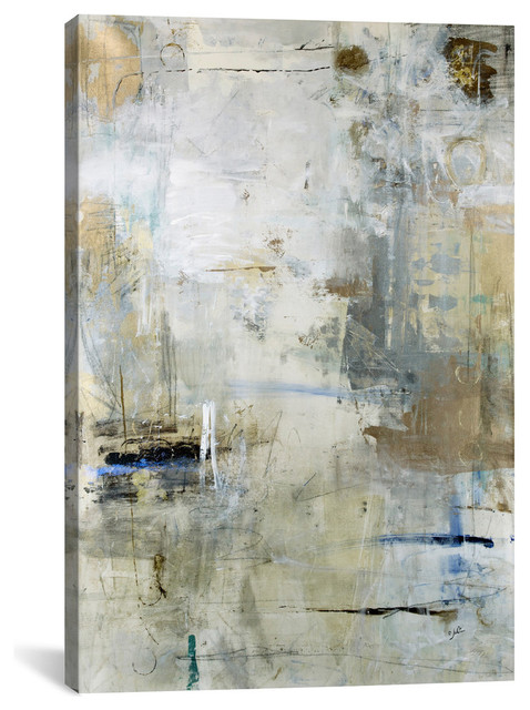 """asking For White"" By Julian Spencer Canvas Print, 3 Panel Set, 60""x40""."