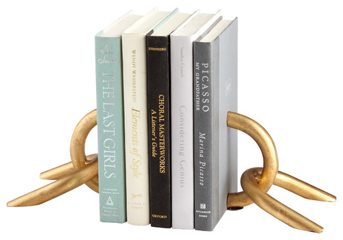 Goldie Locks Bookends, Set of 2