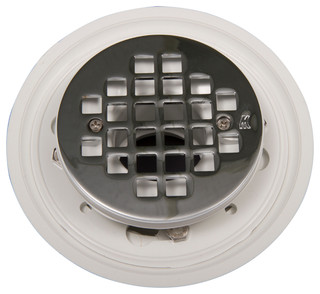 Round Shower Drain - Contemporary - Tub And Shower Parts - by Goof Proof Showers