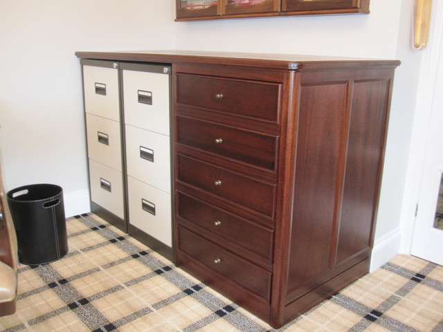 Home Office Furniture Traditional Other By A P Marriott Joinery