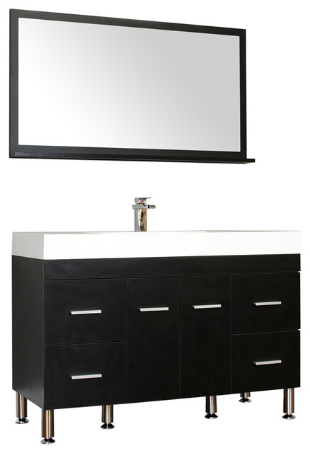 design element oslo 24 inch modern bathroom vanity set collection single black contemporary vanities italian valentino ii va