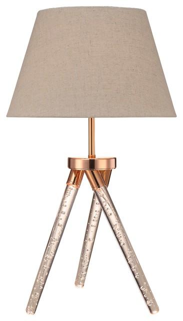 Acme Katana Rose Gold Table Lamp