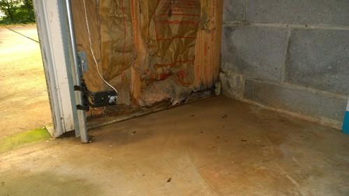 basement garage new leak repair advice needed