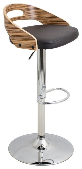 Lumisource Lumisource Cassis H Adjustable Barstool With