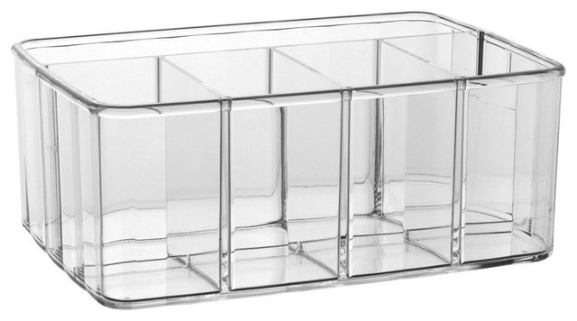 Acrylic 5-Compartment Vanity Caddy.