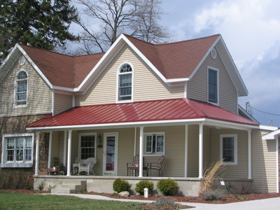Colonial Red Roof By Master Steel Roofing Country